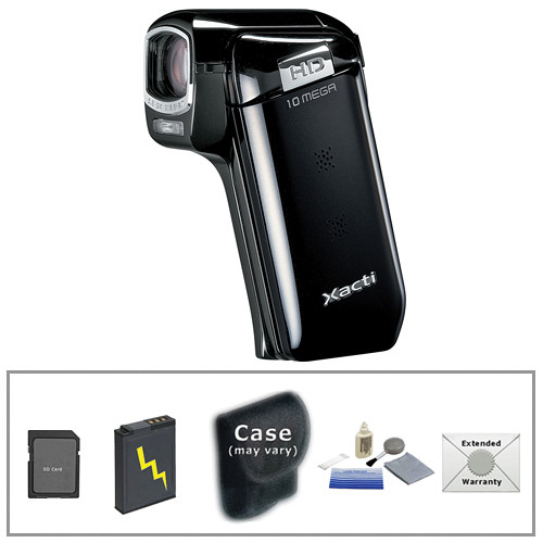 sanyo vpc cg10 dual camera xacti 720p hd camcorder advanced kit rh bhphotovideo com Sanyo Batteries Sanyo TV