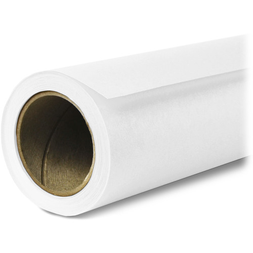 Savage Widetone Seamless Background Paper 01 Super White