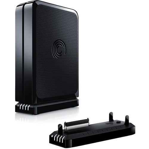 Awesome Seagate 3TB FreeAgent GoFlex Desk External Hard Drive With USB 3.0 With  FireWire 800/USB Good Looking