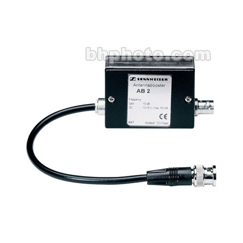 Cable Signal Strength Booster : Sennheiser ab antenna signal booster a b h photo video