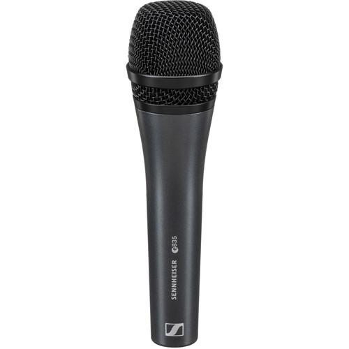 sennheiser e 835 cardioid handheld dynamic microphone 004513. Black Bedroom Furniture Sets. Home Design Ideas