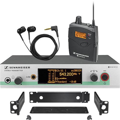 sennheiser ew 300 iem g3 wireless in ear monitoring ew300iemg3 a. Black Bedroom Furniture Sets. Home Design Ideas