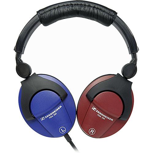 sennheiser hda280 stereo hearing test headphones hda280 b h. Black Bedroom Furniture Sets. Home Design Ideas