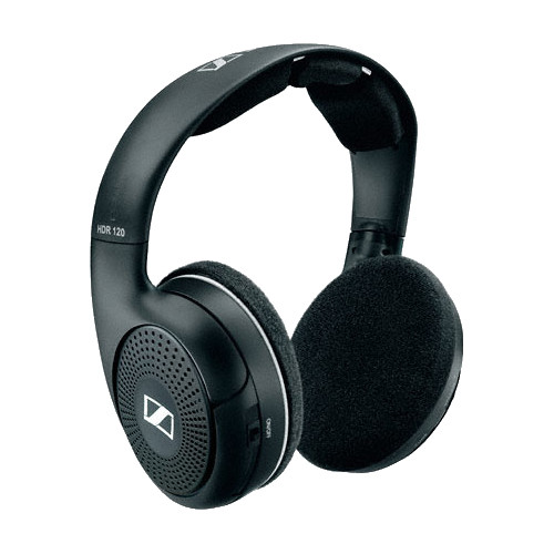 3b6e767815b Sennheiser HDR 120 - Wireless RF Expansion Headphones for the RS 120  Wireless Headphone Monitoring System. Key Features