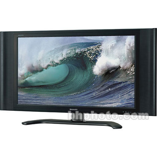 Sharp Lc 37d4u 37 Aquos Lcd Tv Demo Lc37d4u Bh Photo