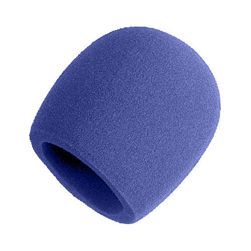 shure a58ws bl blue windscreen for ball mics a58ws blu b h. Black Bedroom Furniture Sets. Home Design Ideas