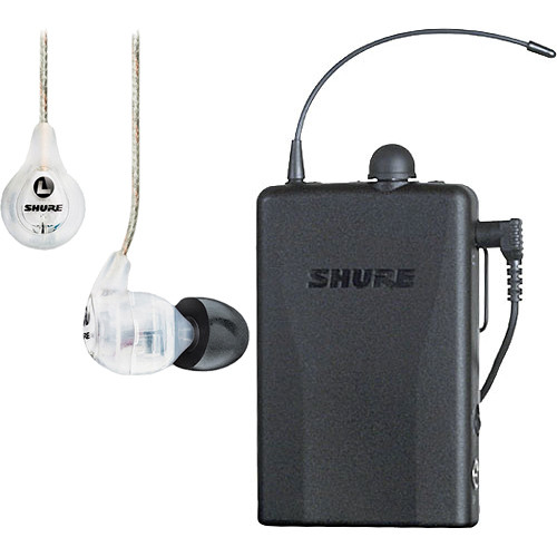 Shure PSM 200 Hybrid Bodypack Receiver P2R115LCL-H2 B&H Photo