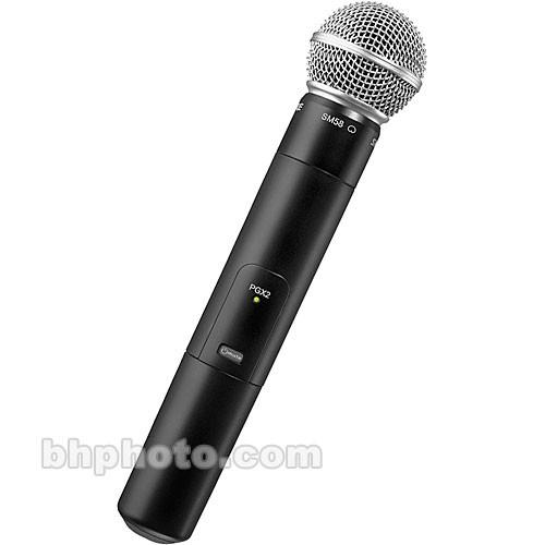 shure pgx 2 wireless handheld microphone transmitter. Black Bedroom Furniture Sets. Home Design Ideas
