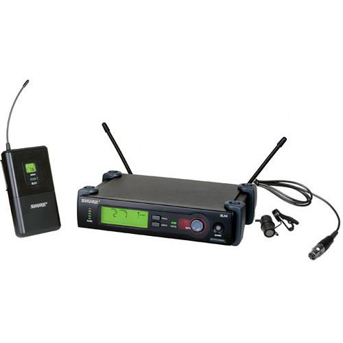 shure slx series wireless microphone system slx14 85 g4 b h. Black Bedroom Furniture Sets. Home Design Ideas