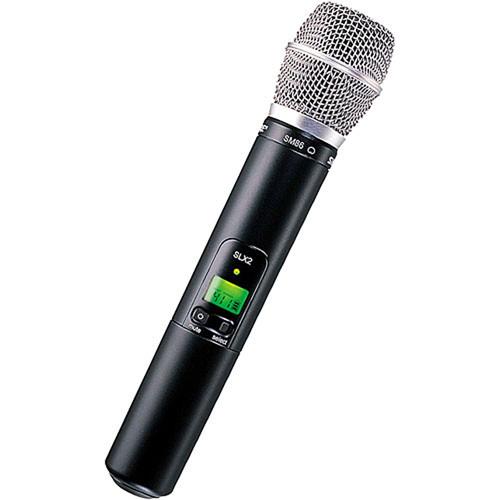 Shure Slx2 Handheld Wireless Uhf Transmitter With Sm58 Microphone : shure slx2 handheld wireless uhf transmitter slx2 sm86 g4 b h ~ Russianpoet.info Haus und Dekorationen