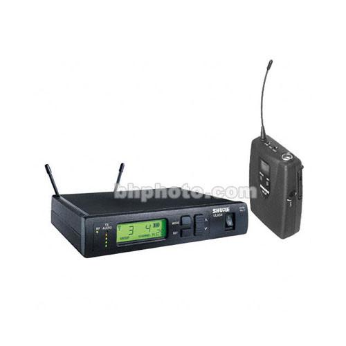 shure ulx series wireless instrument microphone ulxs14 m1 b h. Black Bedroom Furniture Sets. Home Design Ideas
