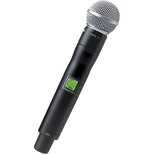 shure ur2 handheld wireless microphone transmitter ur2 sm58 g1. Black Bedroom Furniture Sets. Home Design Ideas