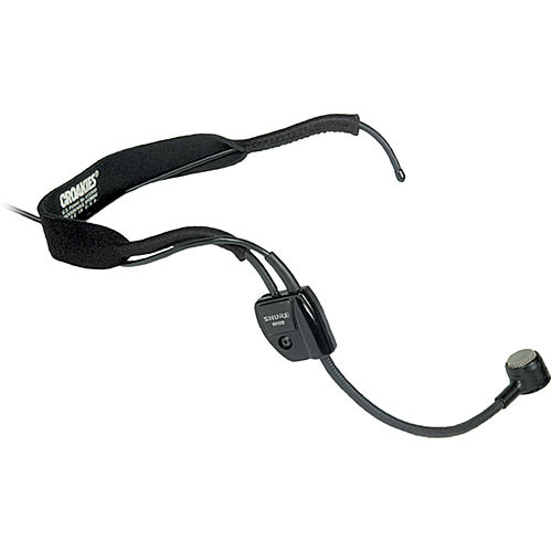 Shure Wh20 Headset Mic With Xlr Connector For Balanced Wh20xlr