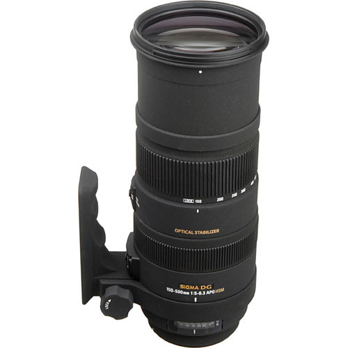Sigma 150 500mm F 5 6 3 Apo Dg Os Hsm Lens For Nikon F 737306