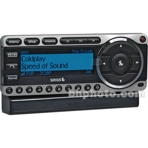 sirius satellite radio st4 starmate 4 plug and play st4tk1 b h rh bhphotovideo com Sirius Starmate 4 Car Kit Starmate 4 Boombox