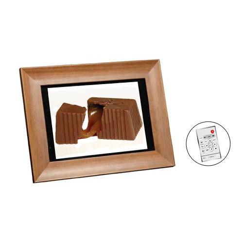 Smartparts 104 Digital Picture Frame Walnut Sp104mw Bh