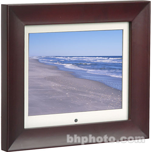 Smartparts 8 Digital Picture Frame Dark Red Sp8em Bh