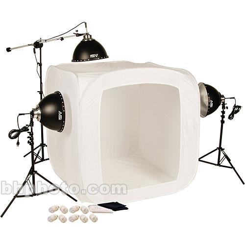 Smith-Victor FLB-4 1050 Watt 3-Light Fluorescent 48  Tent Kit  sc 1 st  Bu0026H & Smith-Victor FLB-4 1050 Watt 3-Light Fluorescent 48