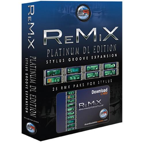 Sonic Reality ReMiX Platinum Edition SR-RMX-PLT-DL01 B&H Photo