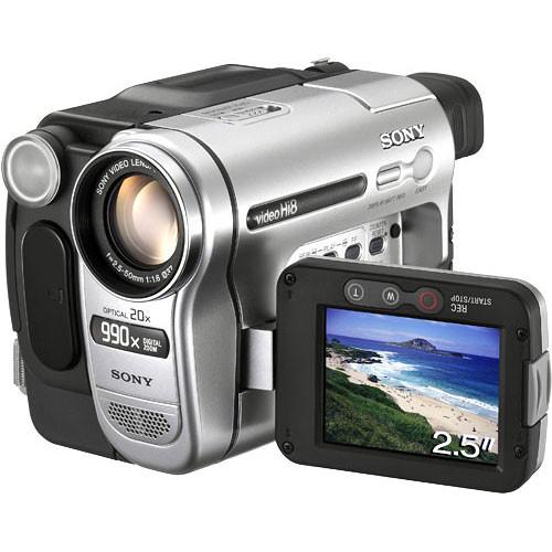 sony ccd trv138 hi 8 handycam camcorder ccdtrv138 b h photo rh bhphotovideo com sony ccd-trv138 hi8 handycam camcorder manual sony handycam ccd-trv138 software download