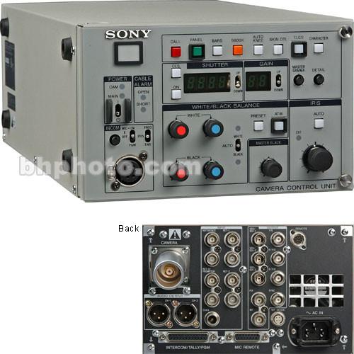 sony ccu tx50 triax system base station ccutx50 b h photo. Black Bedroom Furniture Sets. Home Design Ideas
