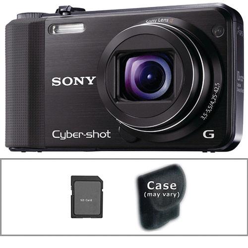 sony cyber shot dsc hx7v digital camera with basic accessory b h rh bhphotovideo com