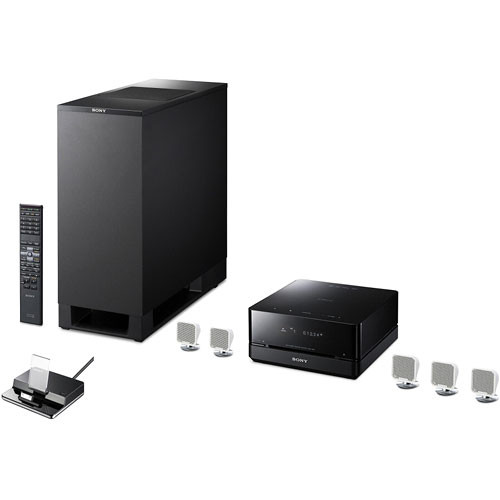 sony dav is10w 5 1 channel home theater micro system davis10 w. Black Bedroom Furniture Sets. Home Design Ideas