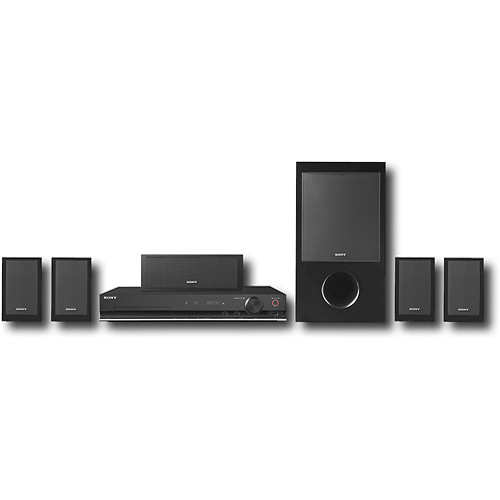 sony dav dz170 5 1 channel dvd home theater system dav. Black Bedroom Furniture Sets. Home Design Ideas