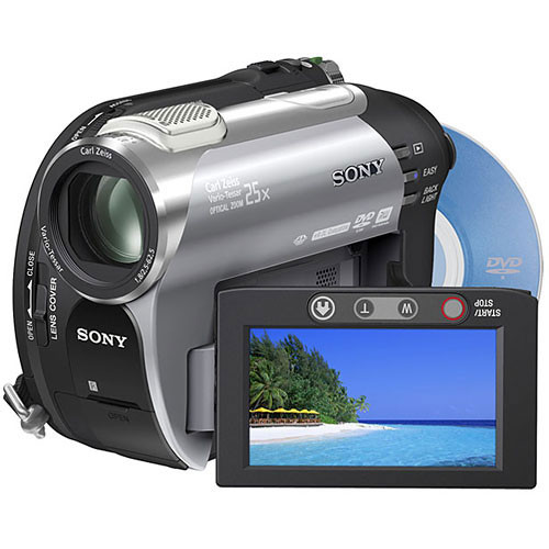 sony dcr dvd308 dvd camcorder dcrdvd308 b h photo video rh bhphotovideo com Sony Handycam Instruction Manual Sony Handycam Instruction Manual