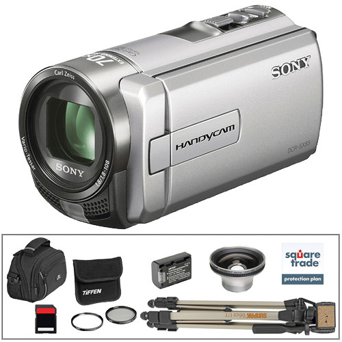 sony dcr sx85 camcorder with deluxe accessory kit silver b h rh bhphotovideo com Sony Dcr SX85 Software DCR-SX85 Charger Cable