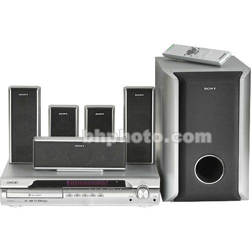 sony demo dav dx255 home theater system b h photo video. Black Bedroom Furniture Sets. Home Design Ideas