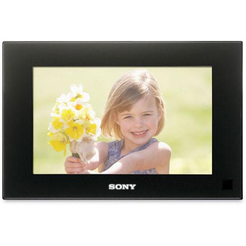 sony dpf d70 digital photo frame 7 lcd black