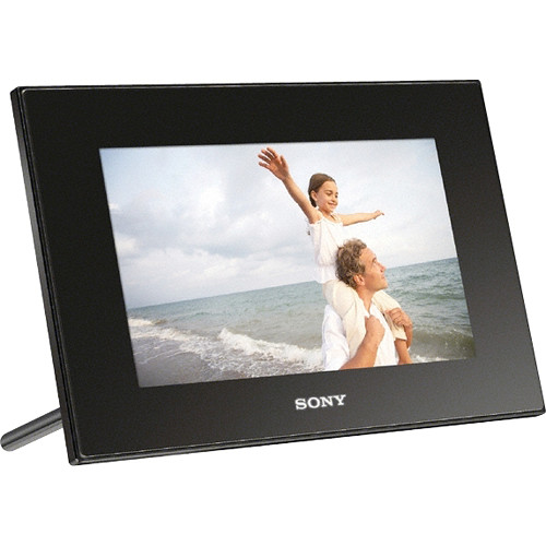 sony dpf d72nb digital photo frame 7 lcd black