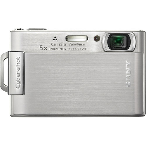sony cybershot dsc t200 digital camera silver dsct200 b h rh bhphotovideo com