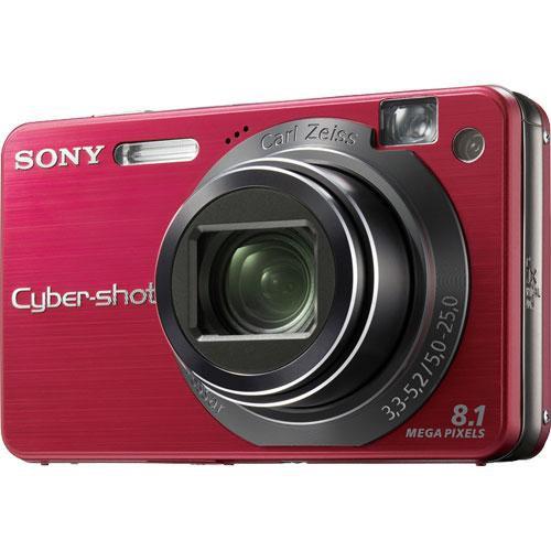 sony cyber shot dsc w150 digital camera red dscw150r b h photo rh bhphotovideo com Sony Cyber-shot DSC W150 sony cyber shot dsc w150 user manual