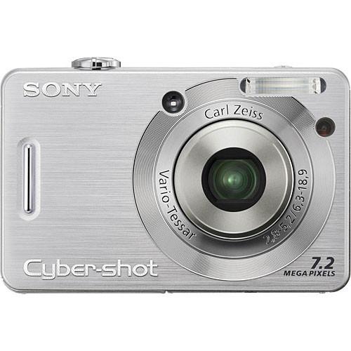 sony cybershot dsc w55 digital camera silver dscw55 b h photo rh bhphotovideo com Sony Cyber-shot Digital Camera 7 2-Megapixel sony cybershot 7.2 megapixels owners manual