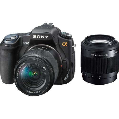 sony alpha dslr a300 slr digtial camera with sony dslra300x b h rh bhphotovideo com Sony Black 20.1Mp Alpha A3000 Sony Alpha A300 LCD Protector