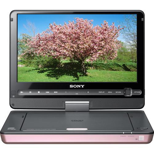 sony dvp fx930 portable dvd player pink dvpfx930 p b h photo. Black Bedroom Furniture Sets. Home Design Ideas