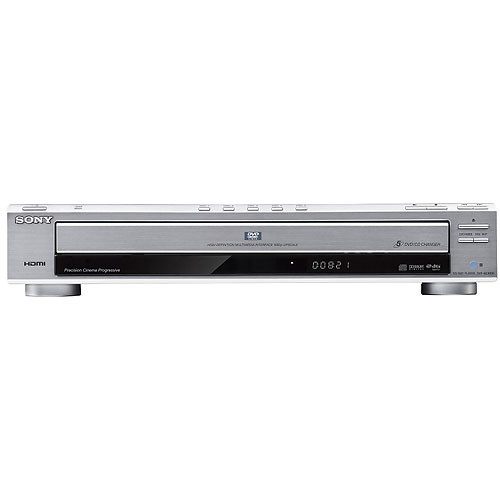 sony dvp nc800hs 5 disc dvd player silver dvp nc800h s b h. Black Bedroom Furniture Sets. Home Design Ideas