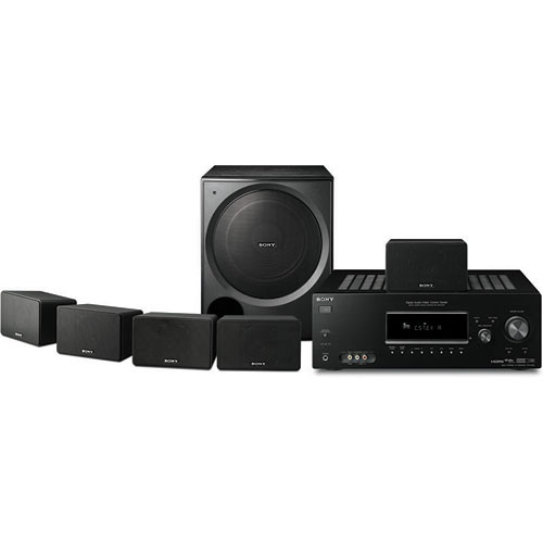 sony ht ddw990 5 1 channel home theater system htd dw990 b h. Black Bedroom Furniture Sets. Home Design Ideas