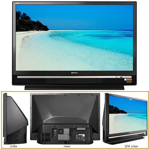sony kds 60a2020 60 sxrd 16 9 rear projection kds 60a2020 rh bhphotovideo com Sony Wega SXRD Sony vs Cable Sony Wega SXRD