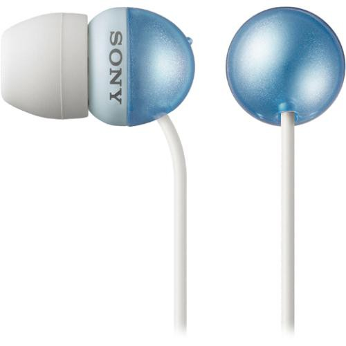Sony MDR-EX33 In-Ear Stereo Headphones (Blue) MDREX33LP ...