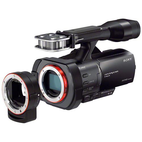 sony nex vg900 full frame interchangeable lens camcorder