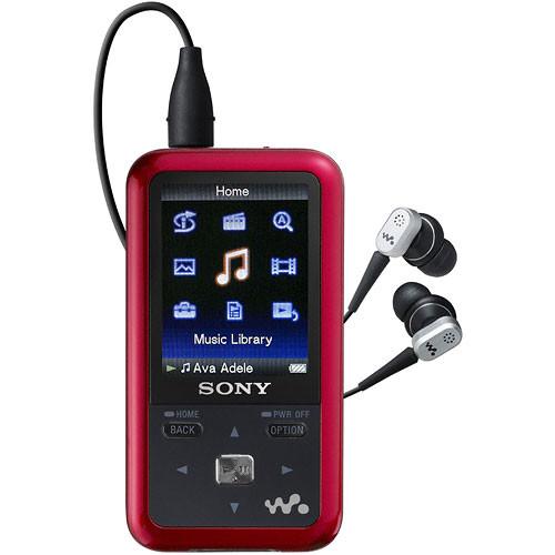 Sony Mp3 Player 4gb Walkman Nwz E383: Sony NWZ-S716FRNC 4GB Walkman Video MP3 Player NWZ