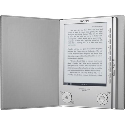 sony prs 505 reader digital book silver prs505sc b h photo rh bhphotovideo com Sony PRS-600 Sony Reader PRS-300