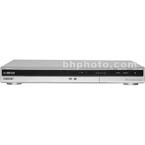 sony rdr gx330 dvd recorder rdrgx330 b h photo video rh bhphotovideo com Sony DVD Recorder sony rdr-gx330 dvd recorder manual