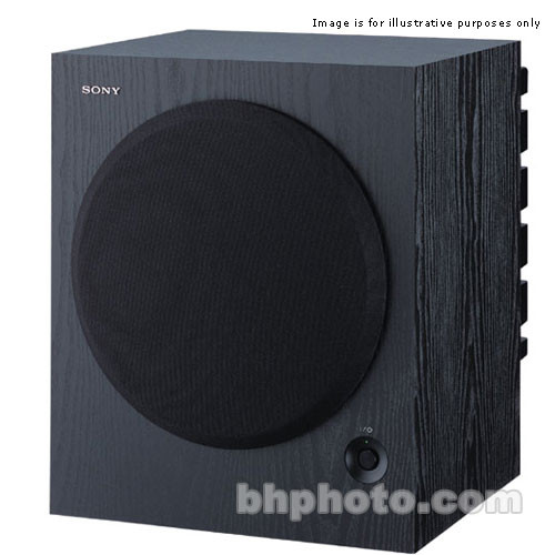 "Sony SA-WM500 12"" 150 Watts Powered Subwoofer SAWM500"