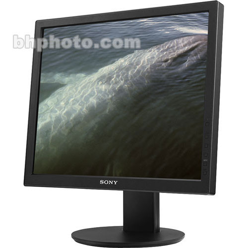 sony sdms95drb 19 u0026quot  lcd computer monitor b u0026h photo video