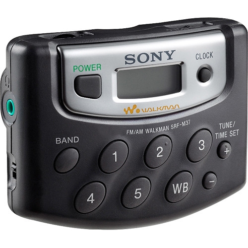 sony srf m37w digital tuning weather fm am stereo radio srf m37w rh bhphotovideo com Sony Operating Manuals ICD-UX523 Sony Owner's Manual Online
