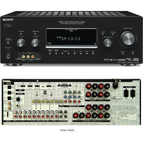 sony str dg910 770w 7 1 channel a v receiver str dg910 b h photo rh bhphotovideo com sony str-dg910 service manual sony str-dg910 specs